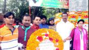 ২৬শে মার্চ মহান স্বাধীনতা দিবসে গাজীপুর সদর  প্রেসক্লাবের পক্ষ থেকে শহীদদের প্রতি শ্রদ্ধাঞ্জলী