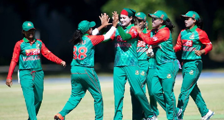 মালদ্বীপকে ৬ রানে অলআউট করে ২৫০ রানে ম্যাচে জিতে বিশ্ব রেকর্ড গড়লো বাংলাদেশ নারী ক্রিকেট দল
