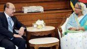 প্রধানমন্ত্রীর সঙ্গে শ্রীংলার সৌজন্য সাক্ষাৎতে মোদীর আগমনের আলোচনা